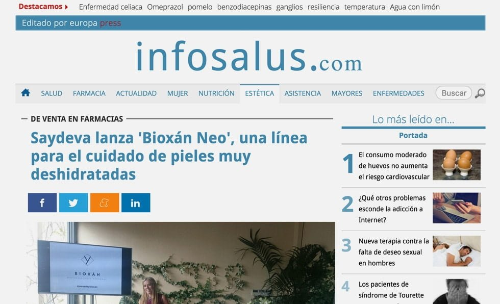 Portada Infosalus