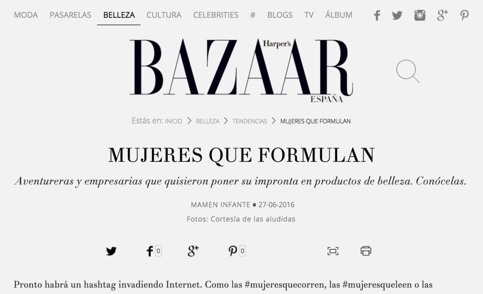 Portada Bazaar