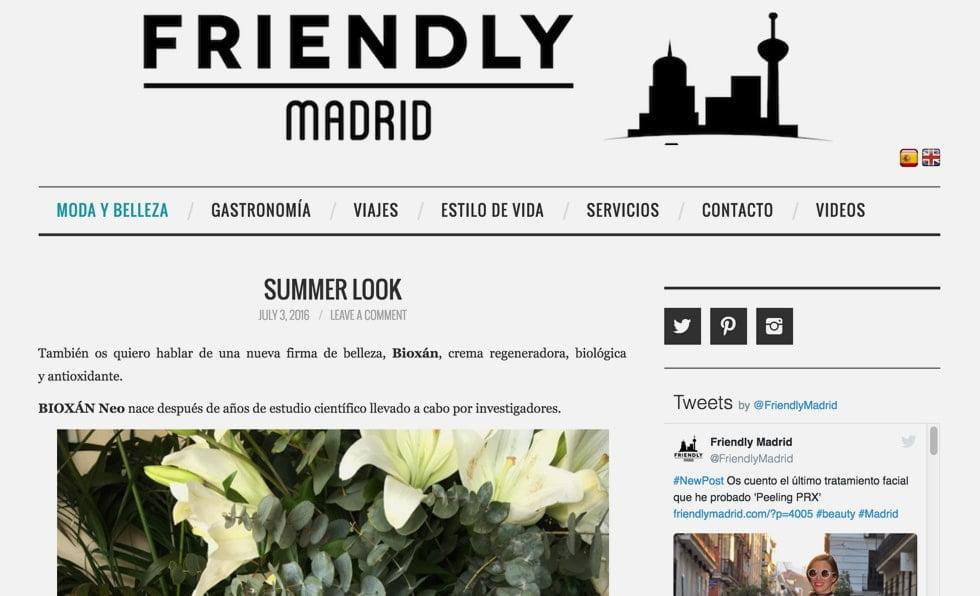 Portada Friendly Madrid