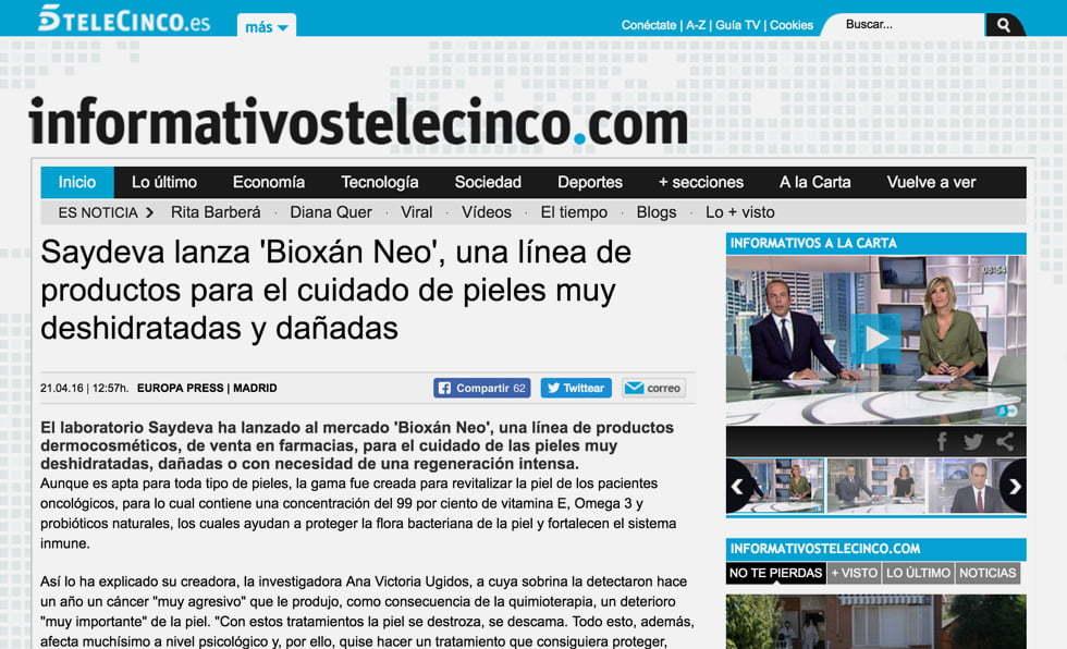 Portada Telecinco.es