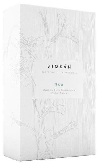 Caja de mascarilla facial de Bioxán Neo