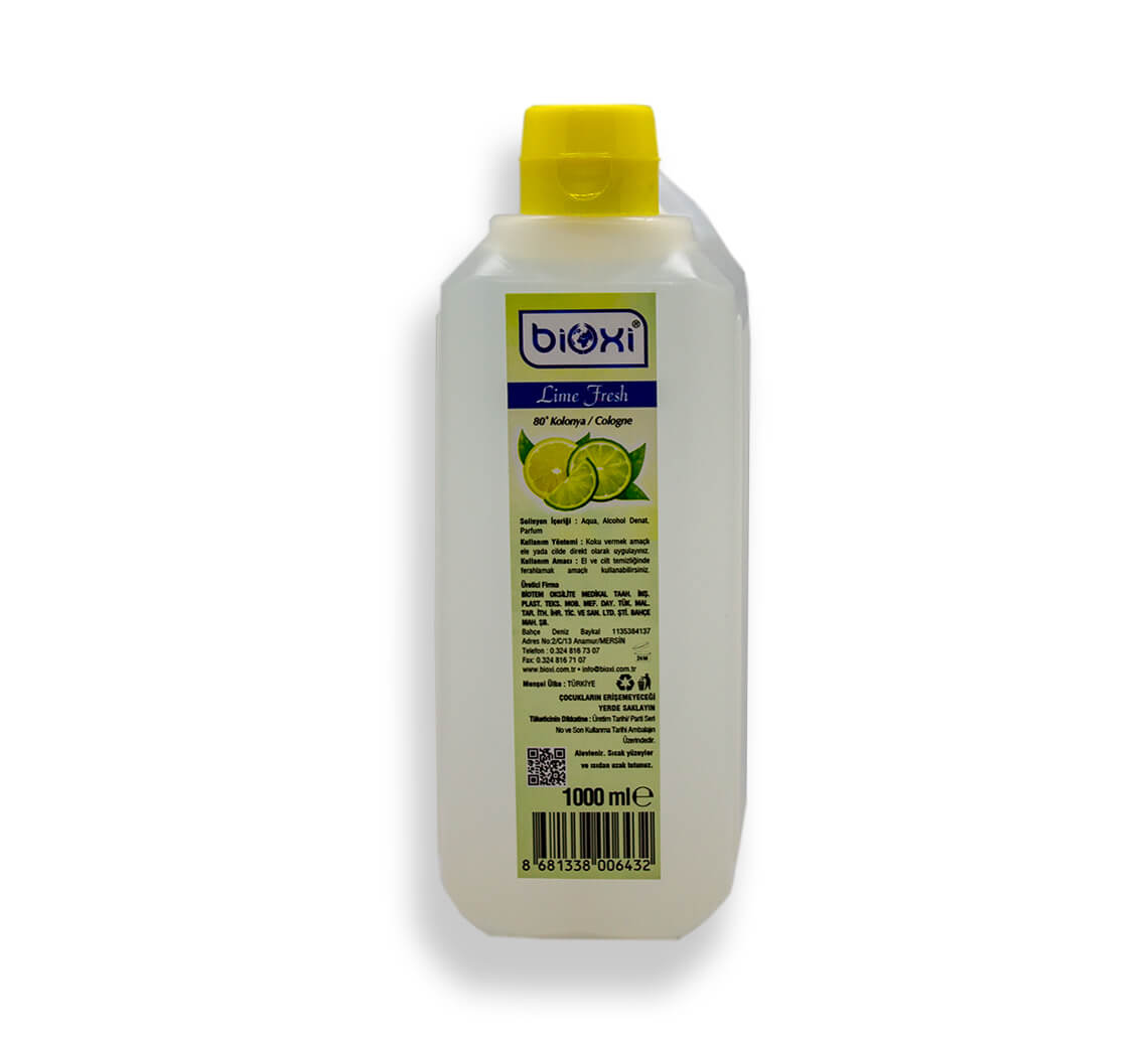 Bioxi Limon Kolonyası 1000