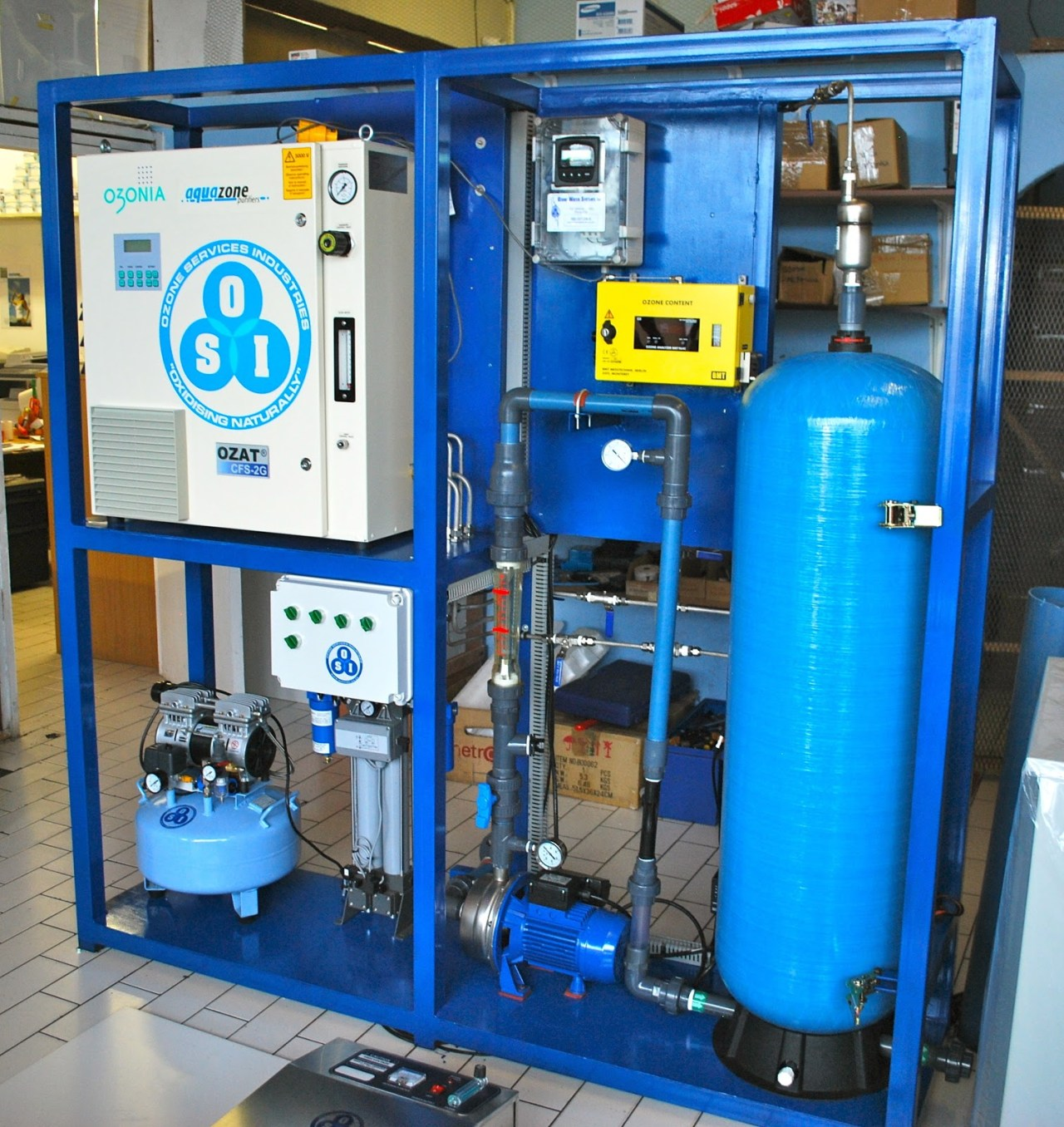 Aquazone Disinfection Plant