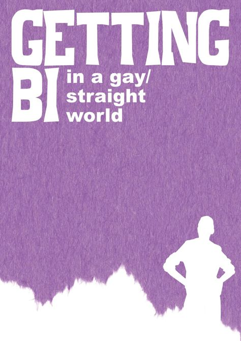 getting bi in a gay/straight world zine art