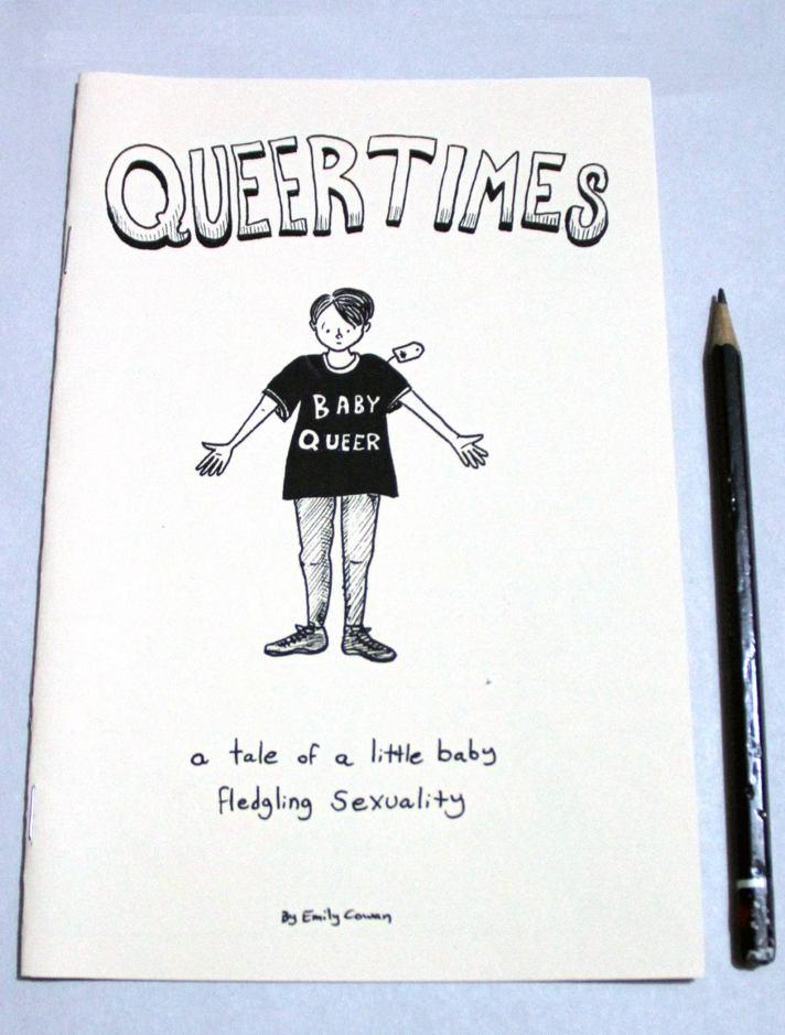 queer times zine art