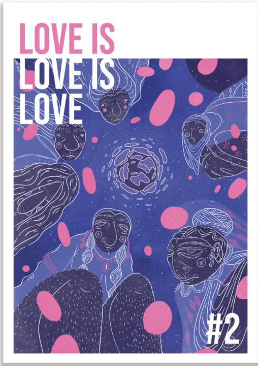 love is love is love vol 2 zine art