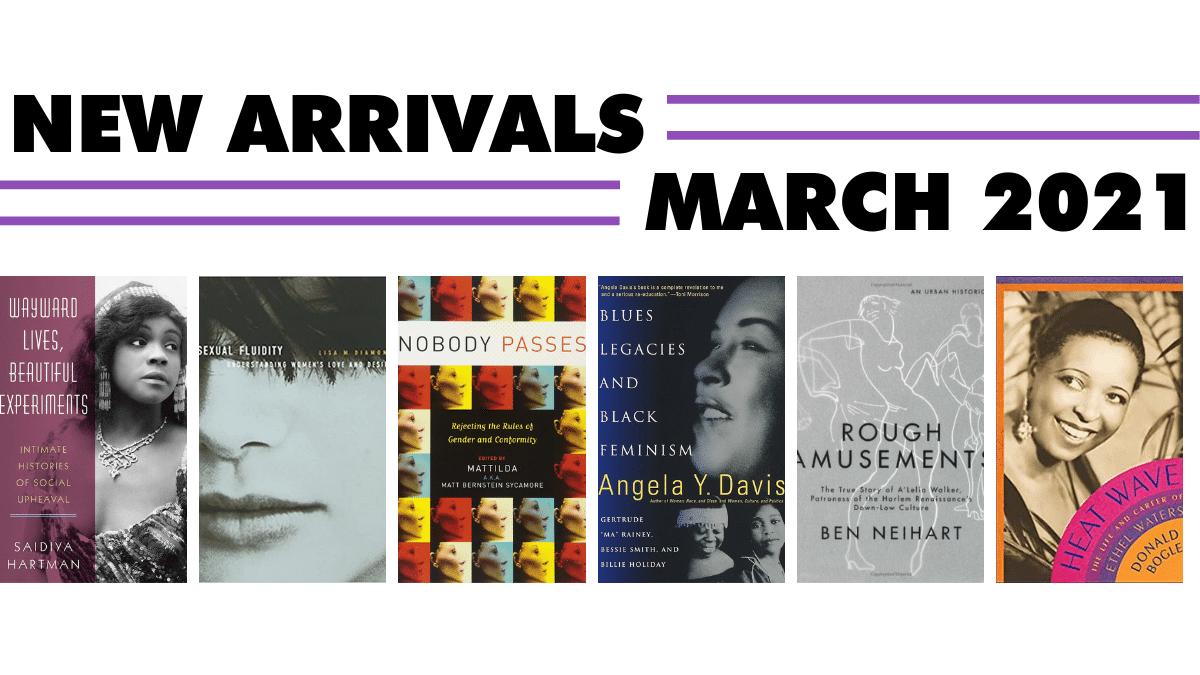 Nonfiction arrivals — March 2021