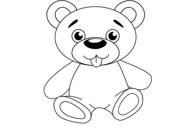Рисунки медведя для срисовки (20 фото) 🔥 Прикольные