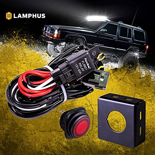 Ute Atv Truck With Wiring Harness And Mounts Usa Led Lights Bars