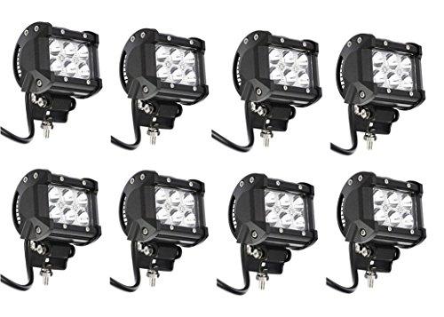 Black Friday YITAMOTOR 10 PCS 18W FLOOD LED Light Work