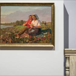 10 веков беларуского искусства, рама для картины