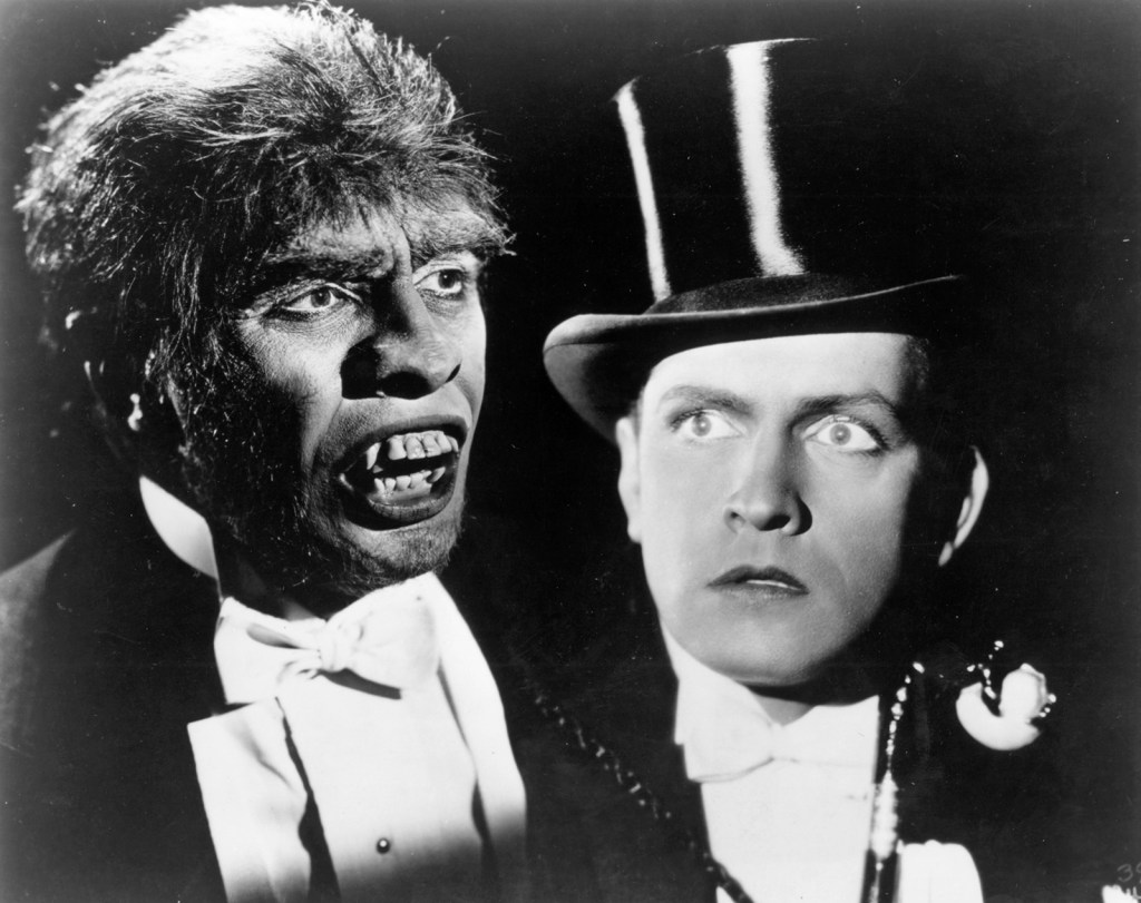 Picture of Dr Jekyll and Mr Hyde in the 1931 Movie