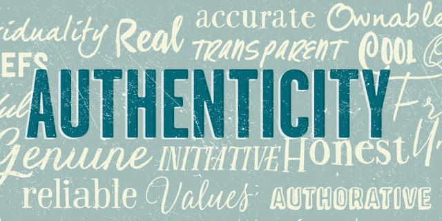 Authenticity wordcould