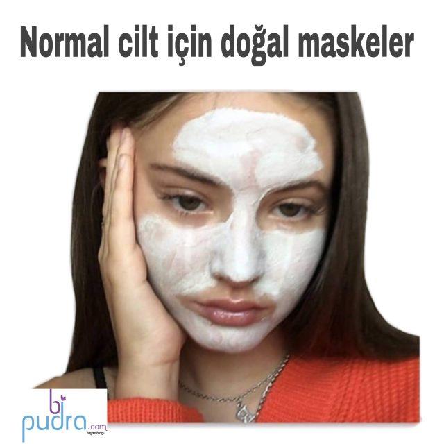 Normal Ciltler İçin Doğal Maske Tarifleri