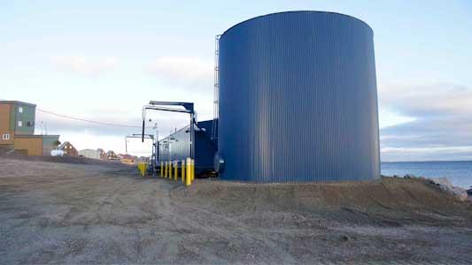 Treatment Plant Baker Lake Nunavut