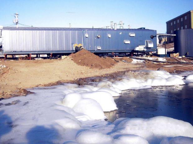 Dual Truck fill System, Baker Lake, Nunavut