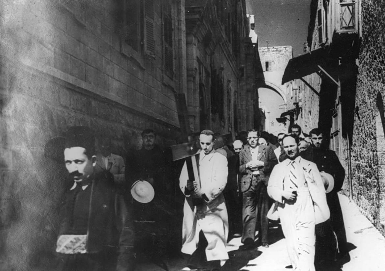 Od druge do treće postaje Križnoga puta 23. srpnja 1937 - Jeruzalem