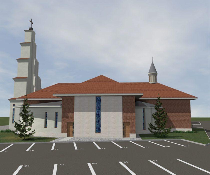 Crkva sv. Ivana Pavla II., pape u Poznanovcu.