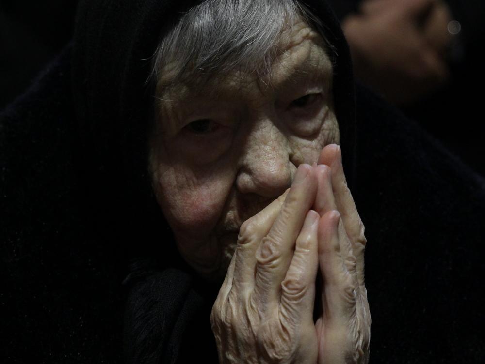 Molitva, foto Bernard Čović.