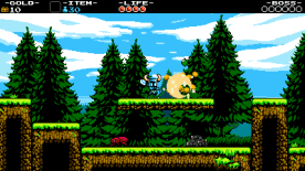 Shovel Knight discovers the use of a shovel. (Image credit to Yacht Club Games, retrieved from the Shovel Knight press kit)