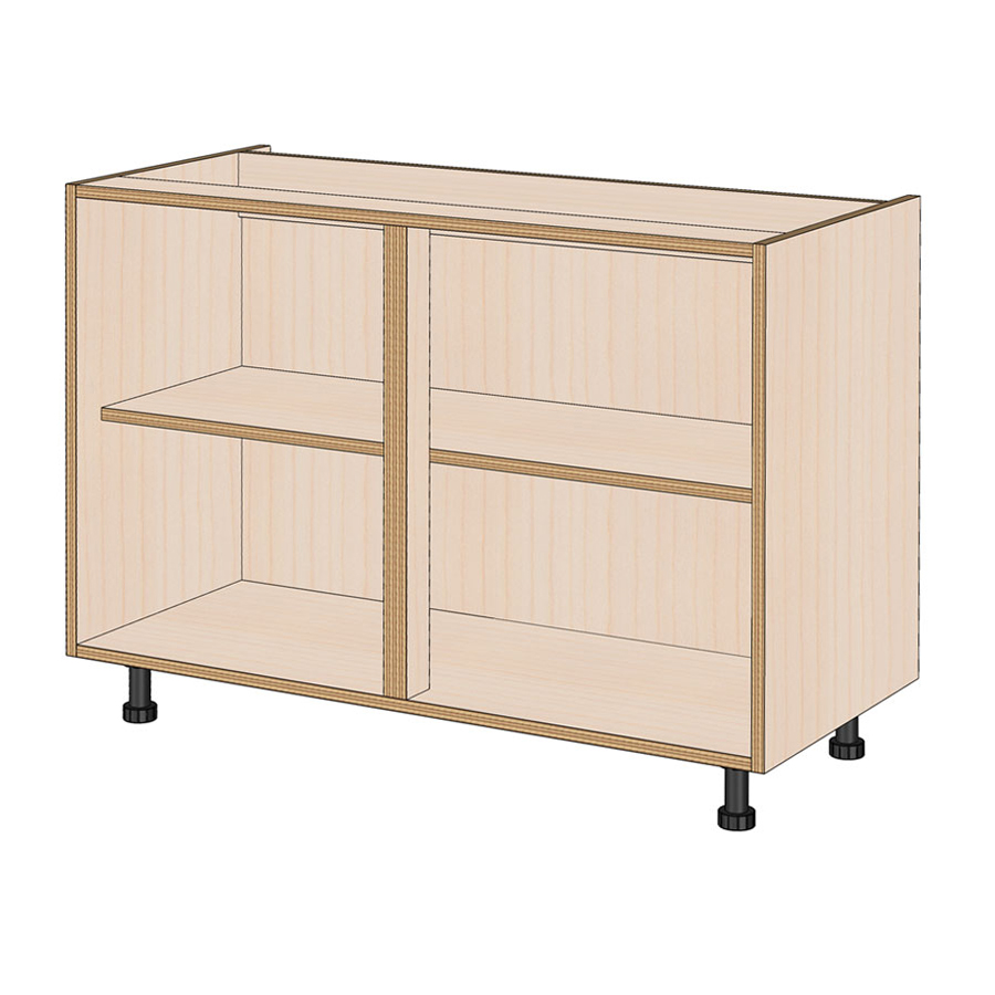 1100mm Wide Birch Plywood Kitchen Base Cabinet Kitchens By Birch