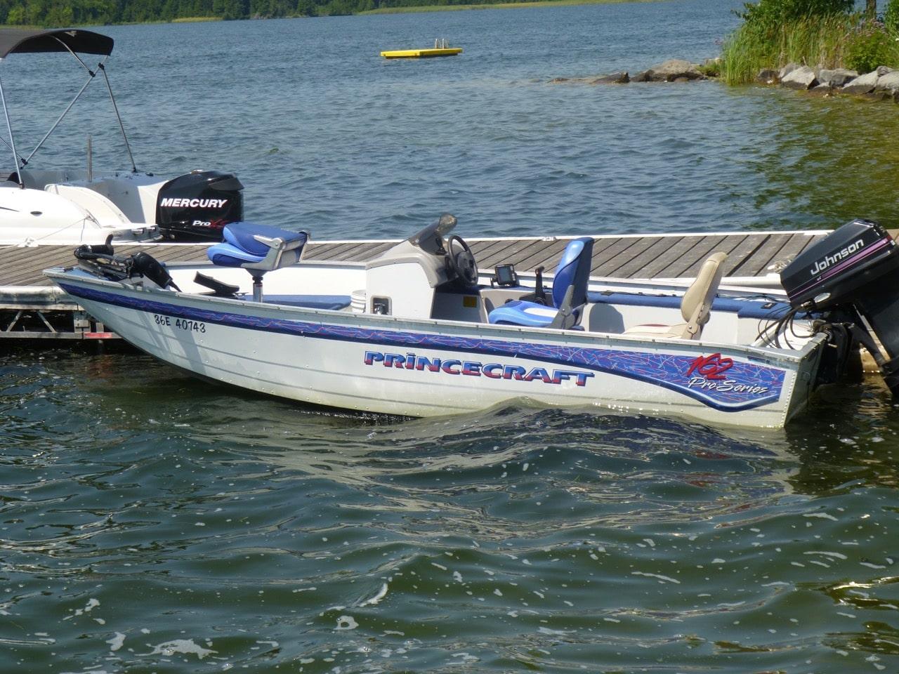 Princecraft Rental Boat