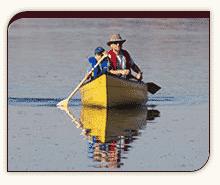 Autumn canoeing