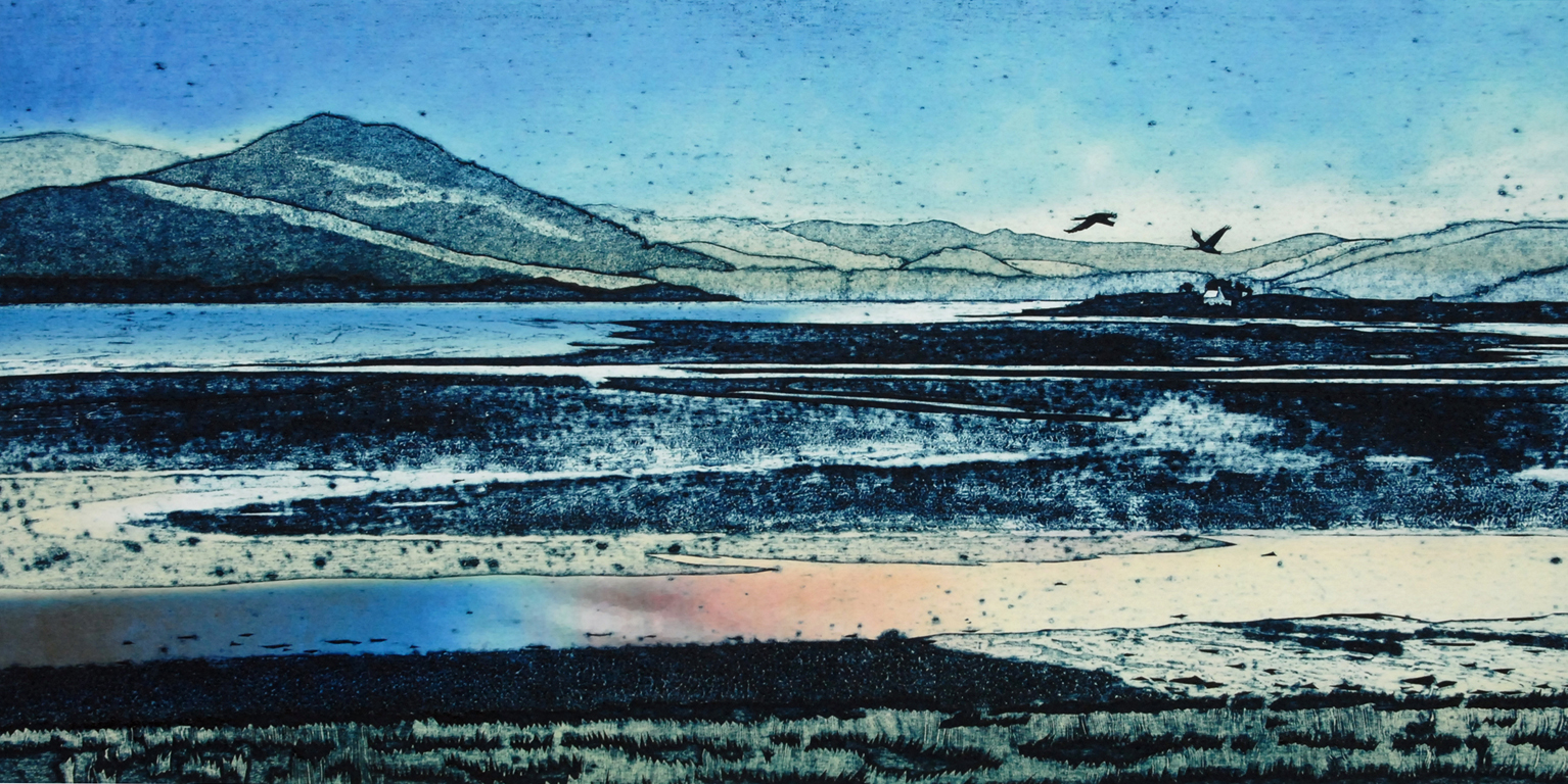 MacKenzie Suzie. Estuary, summer evening, The. 2016