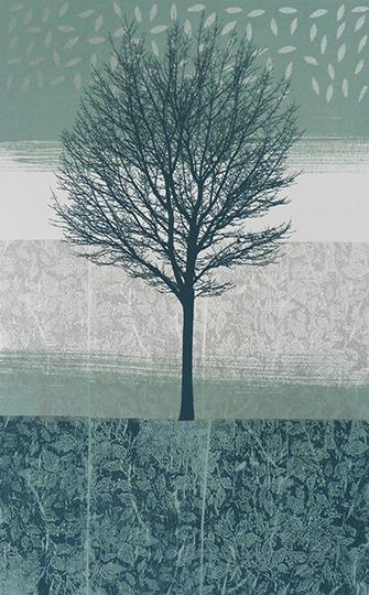 Anne Skinner. Land Series 6 - Tree
