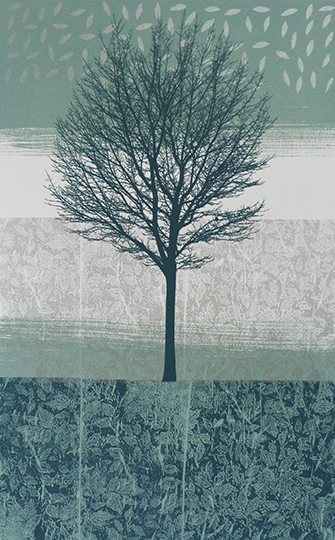 Anne Skinner. Land Series 6 - Tree