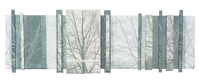 Anne Skinner - Woodland (screenprint on silk)