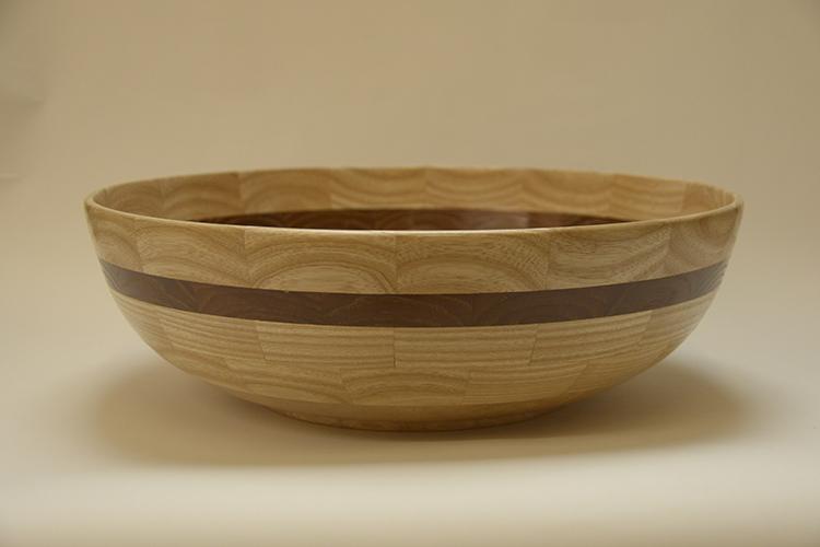 Tony King. Ash & Sycamore bowl 160