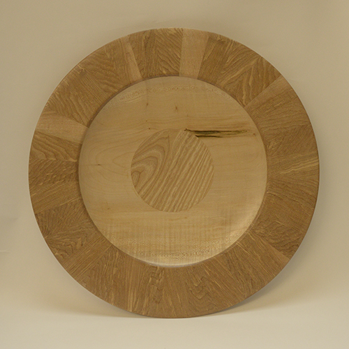 Tony King. 170 Sycamore & Ash platter