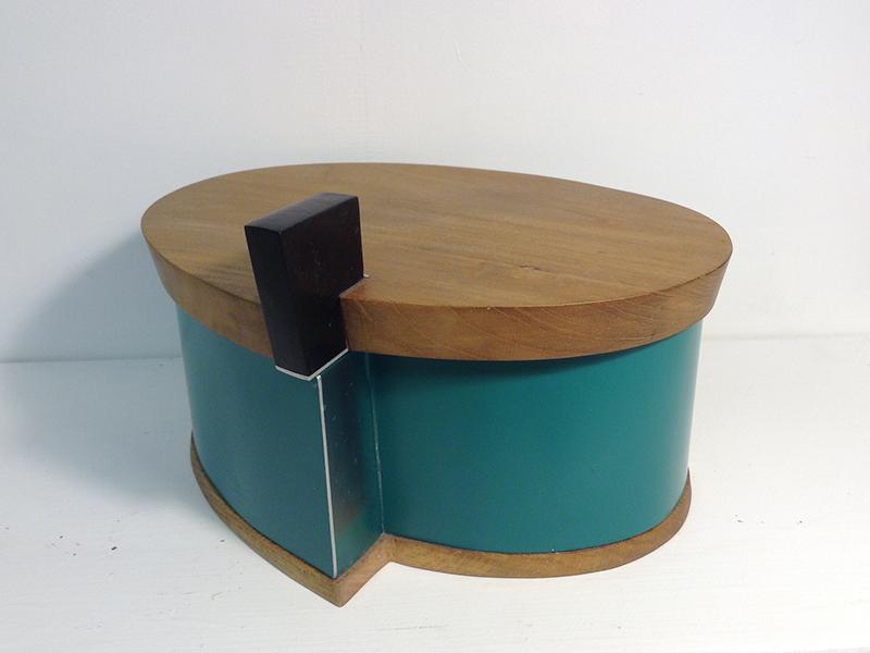 Green Spiral Shaped box 4