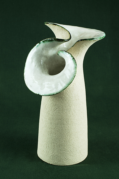 Birch Tree Gallery - Gillian McMillan. Seaform vase