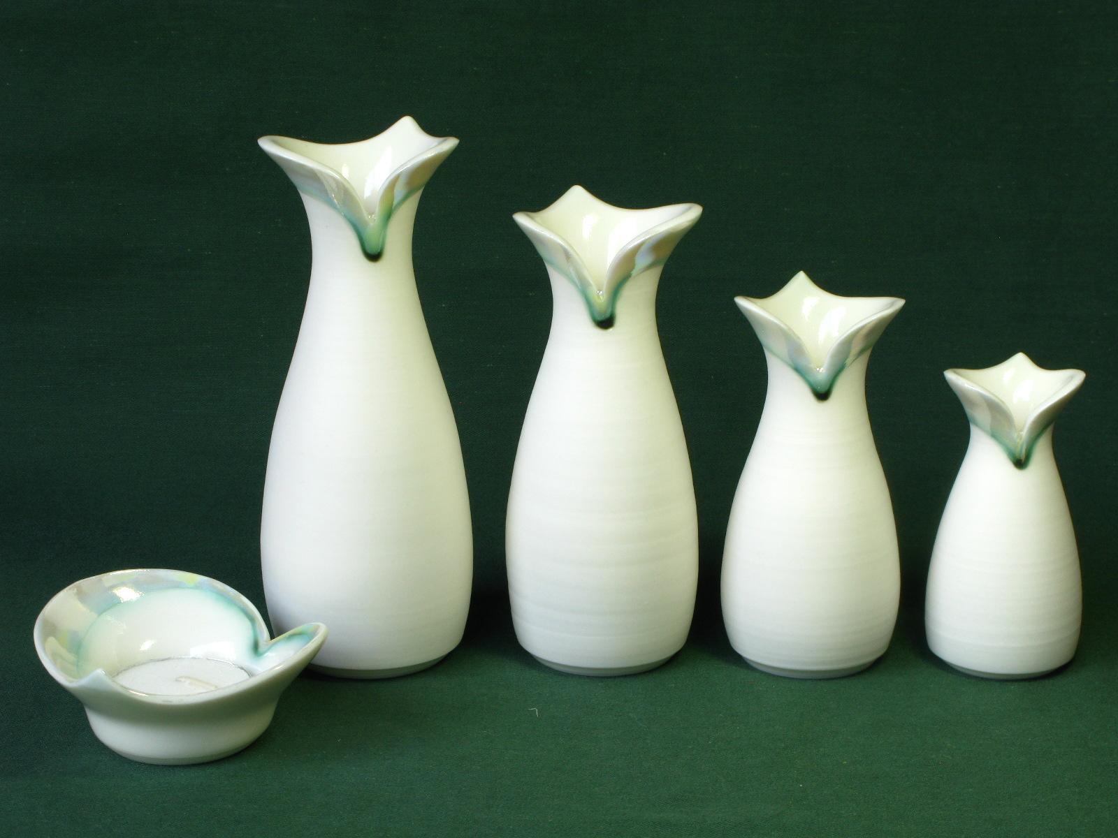 Gillian McMillan. 'Heart' vases