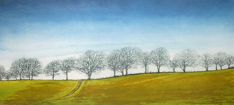 Ian McNicol. Ayrshire Treeliner I