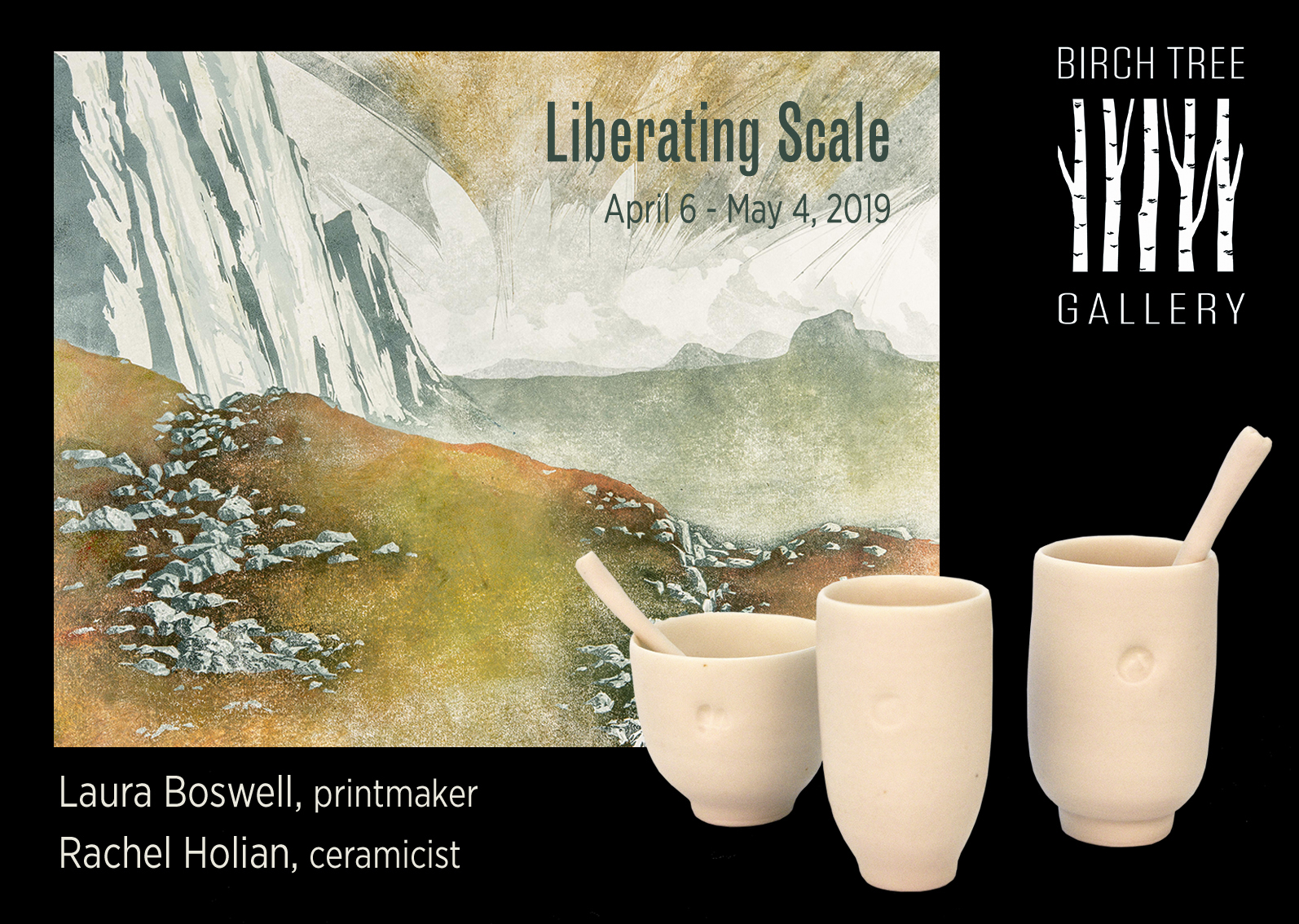 Birch Tree Gallery - ad Liberating Scale