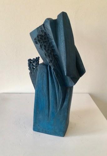 Ellen McCann. Blue Rock Fracture 2