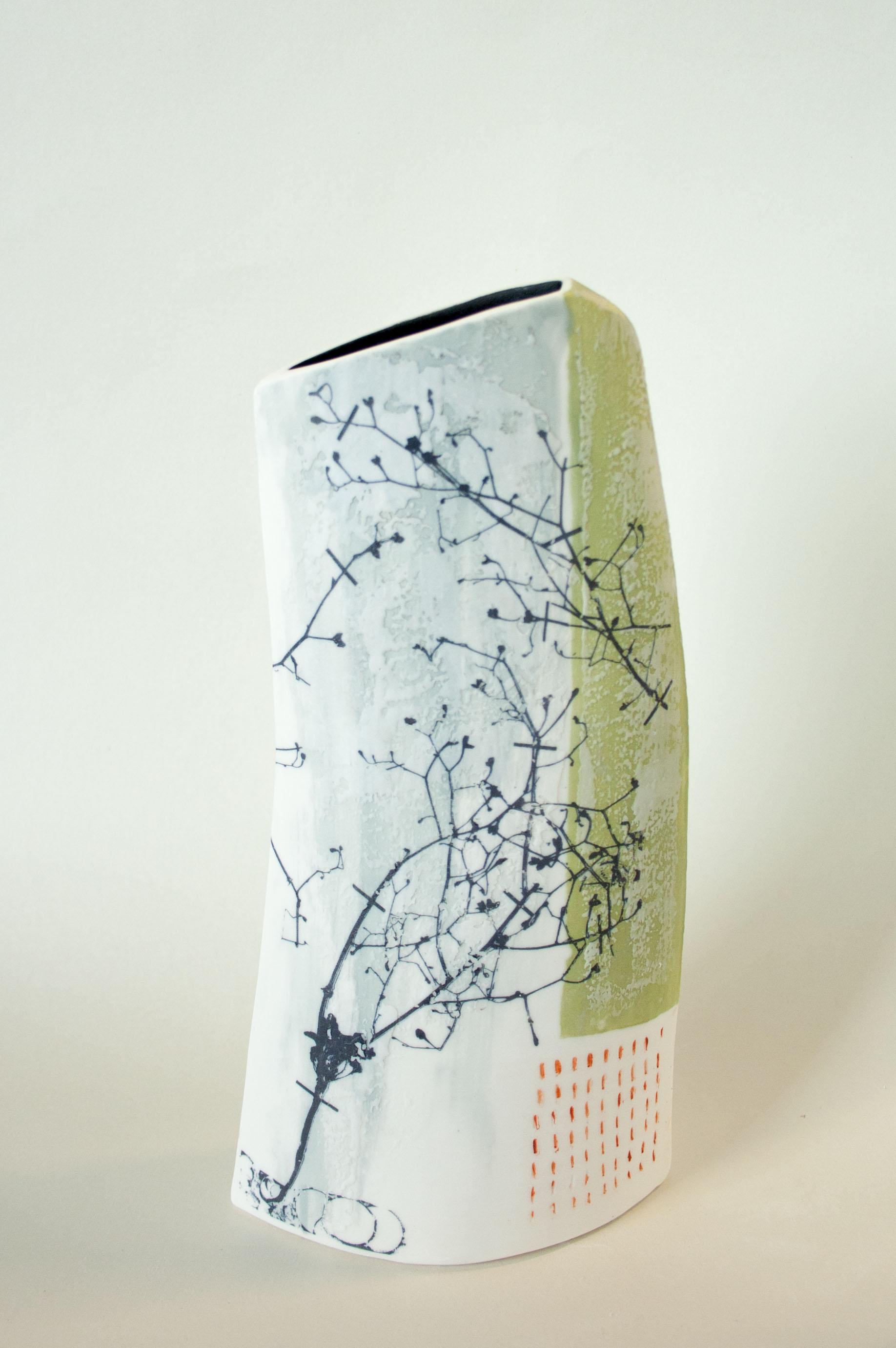 Lorna Fraser. Compositae (porcelain)