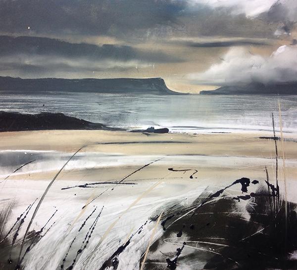 Helen Fryer. Rum in the Mist - again! 42x48.