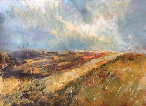 Penny Hunt. Following the Path 69x54cm glazed