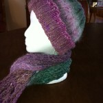 Hand-knit Scarf and Hat by Carla Wight