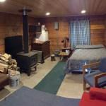 Inside Sourdough Cabin