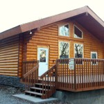 Fireweed Hall, the newest building at Birchwood Camp