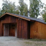 Centralized bathhouse; includes restrooms and showers for both men and women