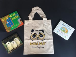 Panda Post Book Bag