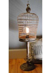Bird Cage Table Lamp | Birdcage Design Ideas
