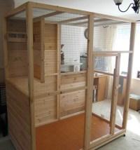 Build Indoor Bird Aviary | Birdcage Design Ideas