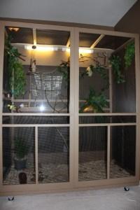 Indoor Bird Aviary Designs | Birdcage Design Ideas